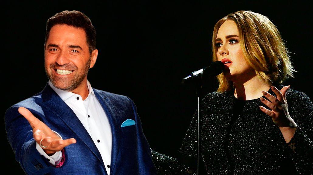 Mariano Iúdica se rió de Adele: ¡Lechón!