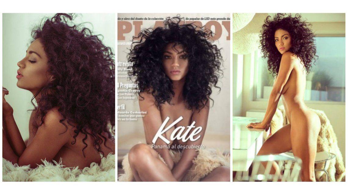 Kate Rodríguez, la bailarina panameña de ShowMatch, al desnudo: producción súper hot para Playboy