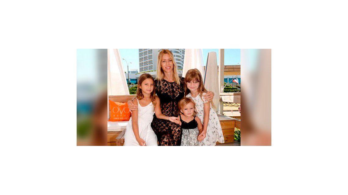 El tierno video de Nicole Neumann con sus hijas: tarde nublada y de hamacas