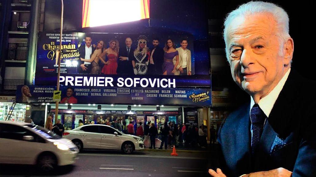 El teatro Premier pasó a llamarse Premier Sofovich en homenaje a Gerardo