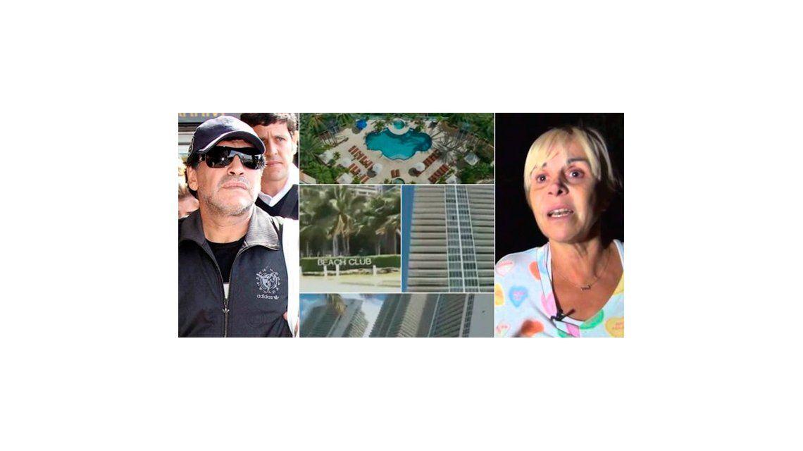 Claudia Villafañe le ganó a Diego Maradona en la causa de las propiedades de Miami