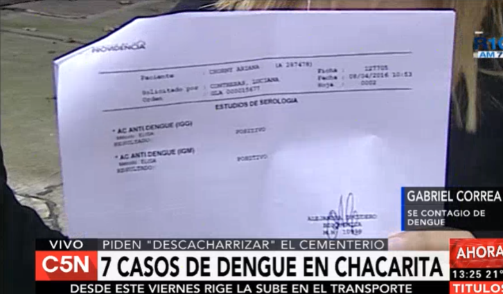 El mal momento de Gabo Correa: él y su mujer se contagiaron de dengue