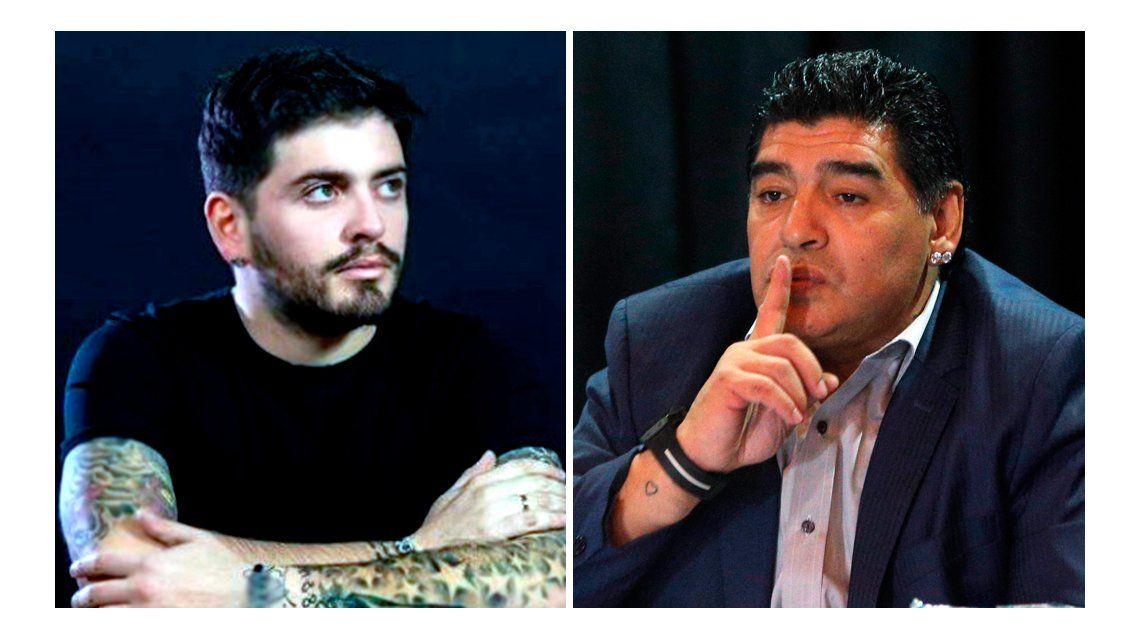 Diego Jr. busca el reconocimiento: Sé que mi papá ahora piensa en mí