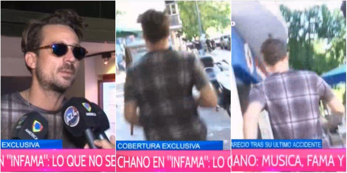 El detrás de escena de la entrevista a Chano: corridas, su nuevo tema y su relación con Micaela Tinelli