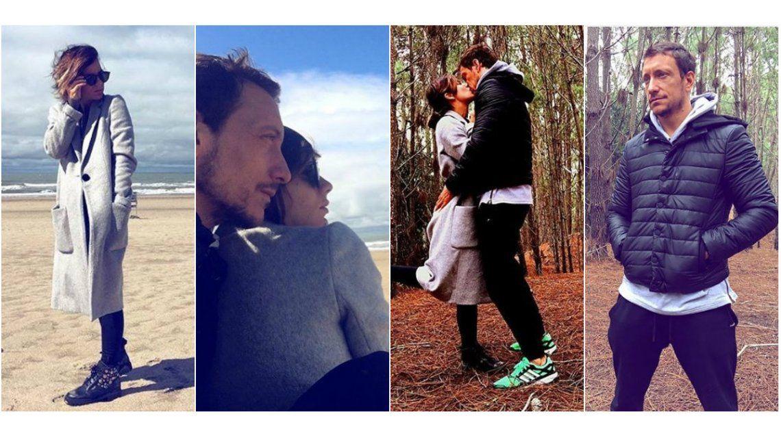 Las románticas vacaciones de Gimena Accardi y Nico Vázquez: Así y nada más, te amo