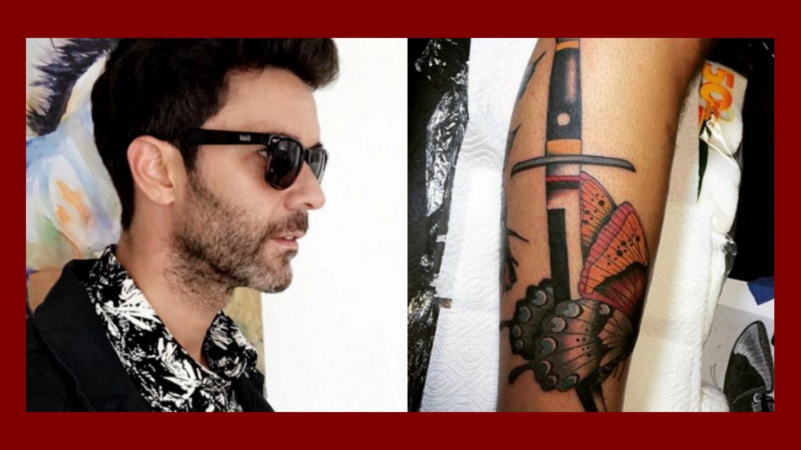 Mariano Martínez redobló la apuesta y se hizo otro tatuaje: ¿indirecta para Lali Espósito?