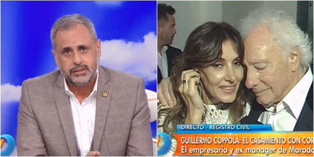 El emotivo momento entre Jorge Rial y Guillermo Coppola: Me vas a hacer llorar