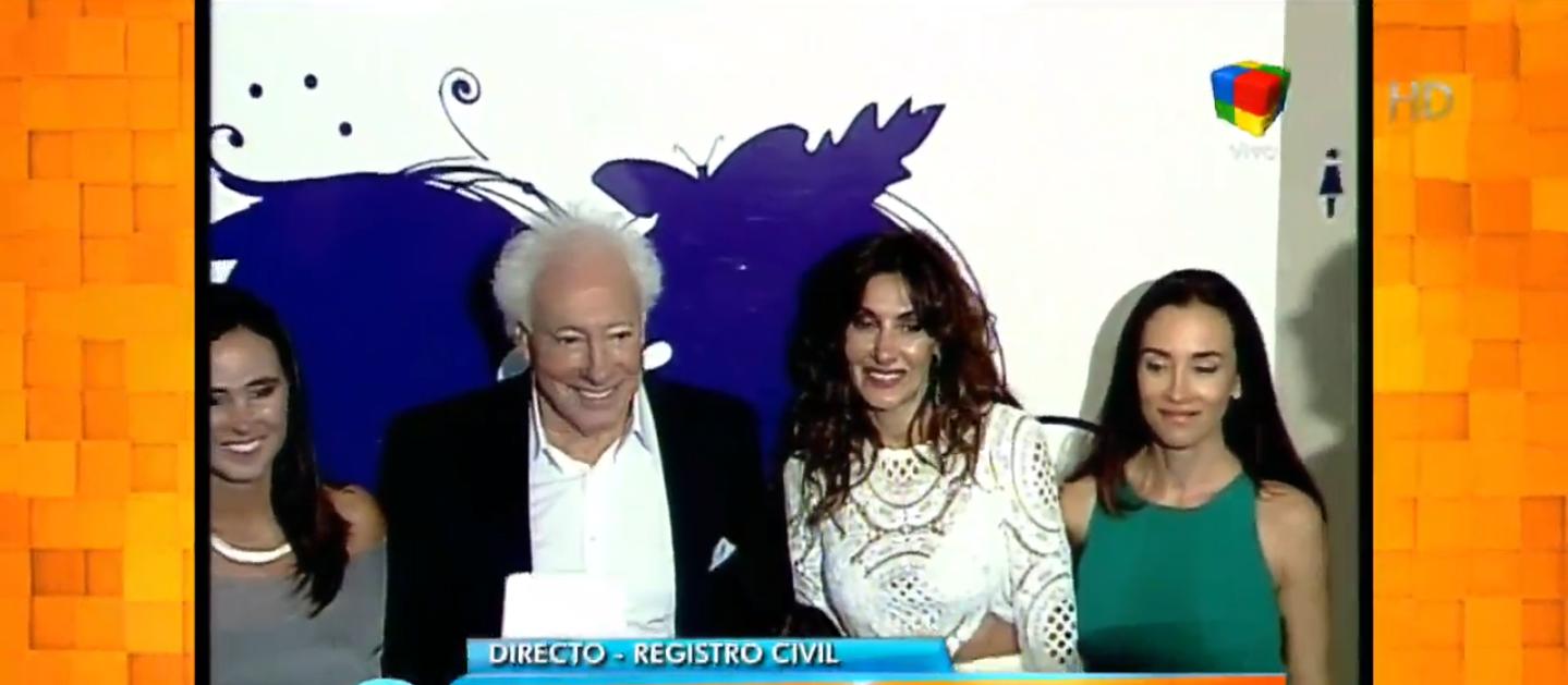 Guillermo Coppola se casó con Corina Juarez: Ella me bancó y de eso no me olvido