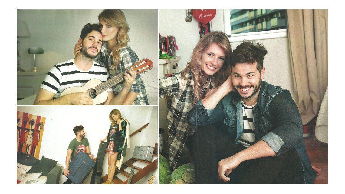 La noche romántica de Nicolás Magaldi y su novia modelo en la primera cita