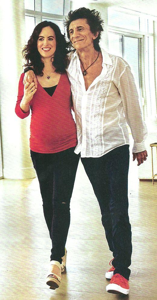 Ron Wood será padre de mellizas a los 69 años: Hace siete que estoy sobrio, es una bendición