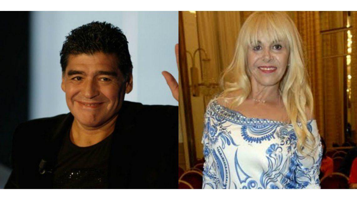 Claudia Villafañe fue sobreseída en la causa de los 458 objetos de Diego Maradona