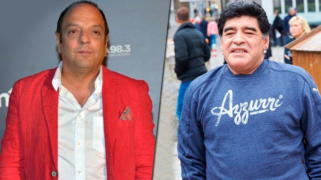 Baby Etchecopar, furioso contra Diego: Maradona es un merquero y nos hizo quedar como el cu... en todos lados
