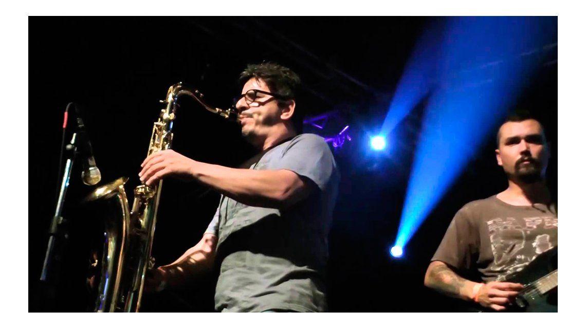 El ex saxofonista de Callejeros, antes de ir a la cárcel: Espero que podamos salir rápido