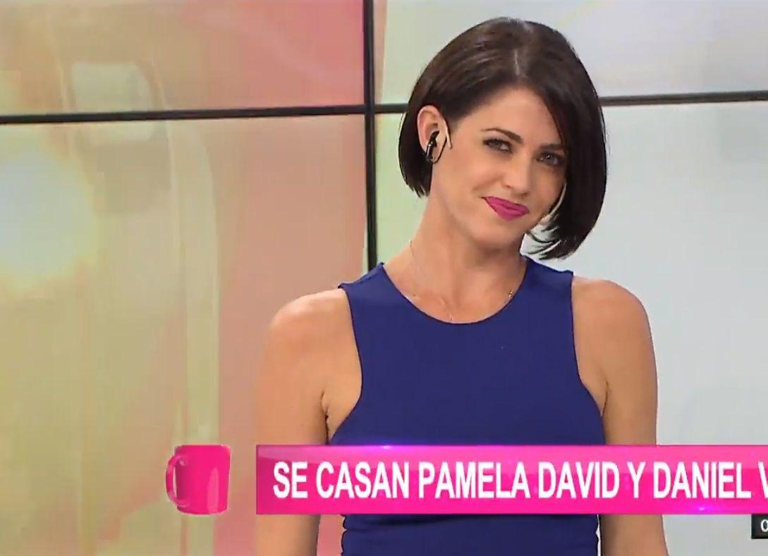 Pamela David: No creo que haga los debates de Gran Hermano