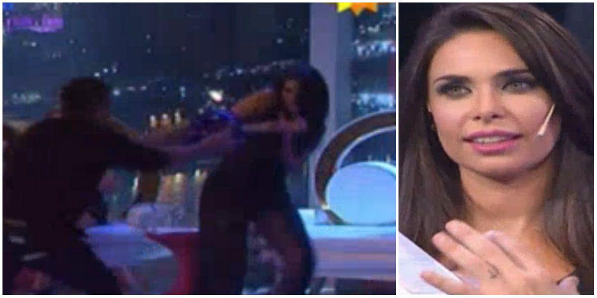 El susto de Sabrina Ravelli en Como anillo al dedo: ¡mirá lo que le tiró Cristian U!