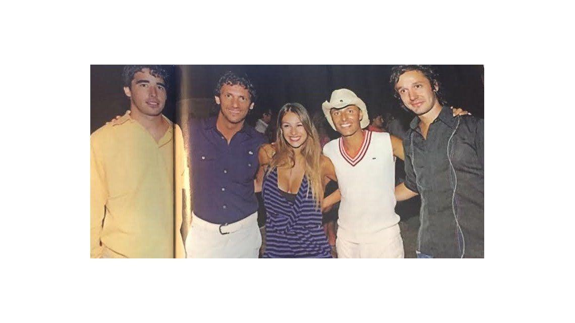 La foto vintage que prueba la amistad entre Nacho Viale y Vicuña cuando estaba casado con Pampita