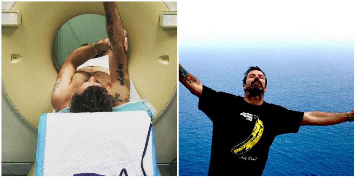 El líder de Jarabe de palo venció el cáncer: conmovedoras fotos en las redes sociales