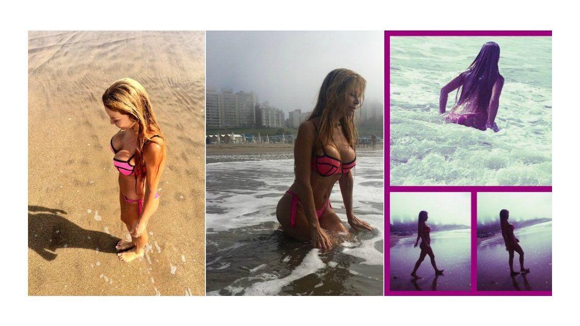 Graciela Alfano, sin photoshop en la playa: La sombra asusta, nos parece enorme; ríanse y el miedo se va