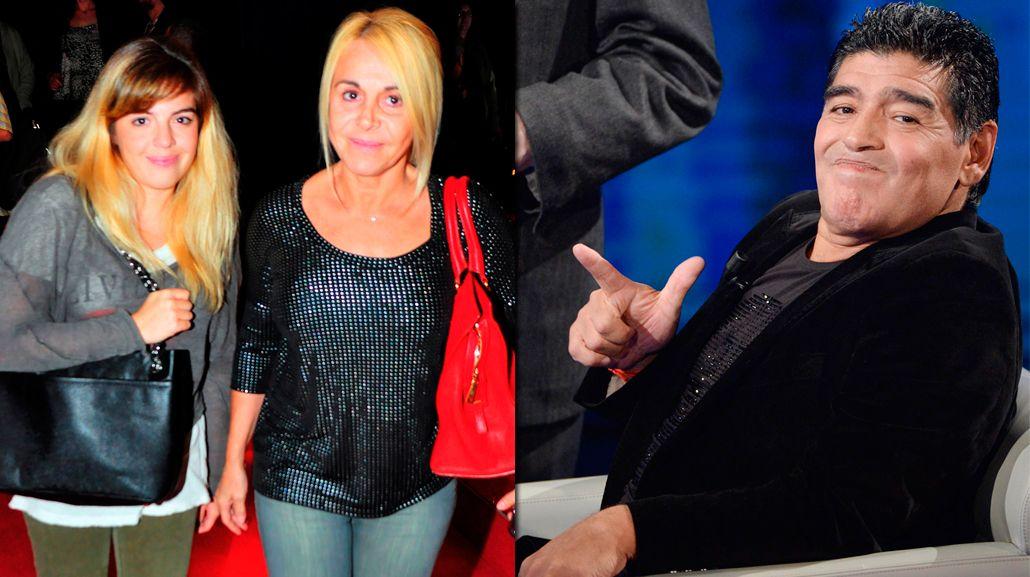 Dalma Maradona rompió en llanto: defendió a Claudia y dijo que las declaraciones de Diego le dan lástima