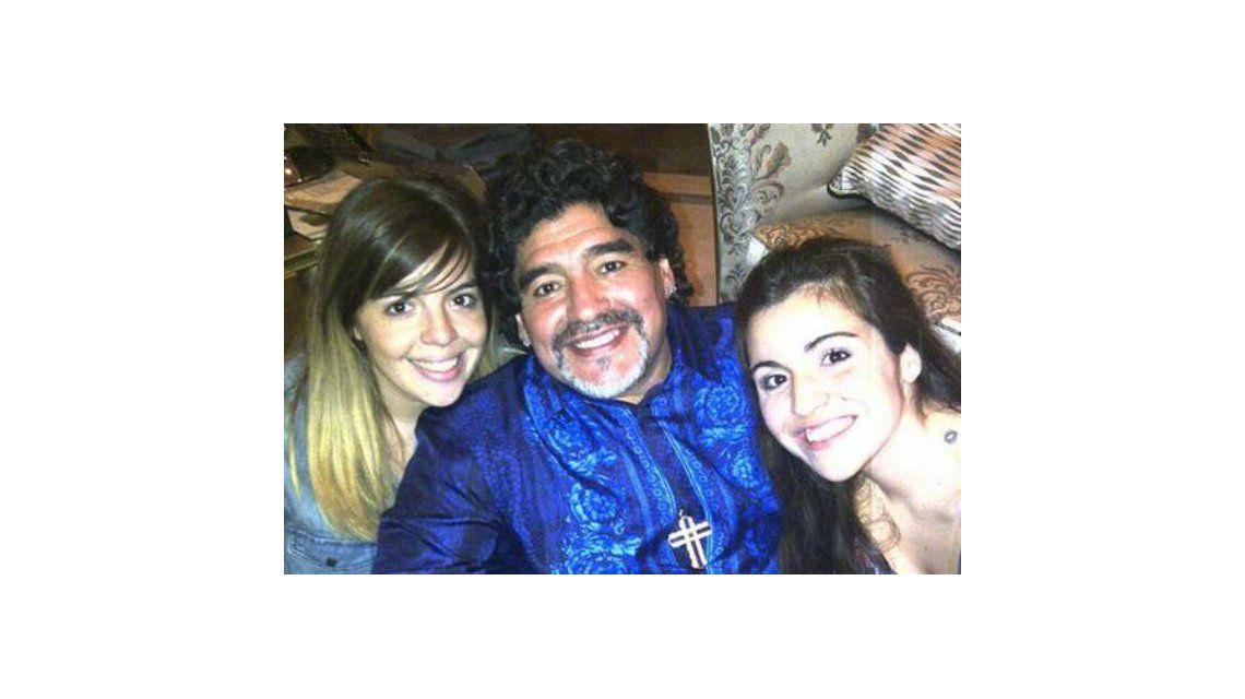 Diego Maradona, sin filtro, contra sus hijas: Gianinna no me habla, Dalma es la más centradita