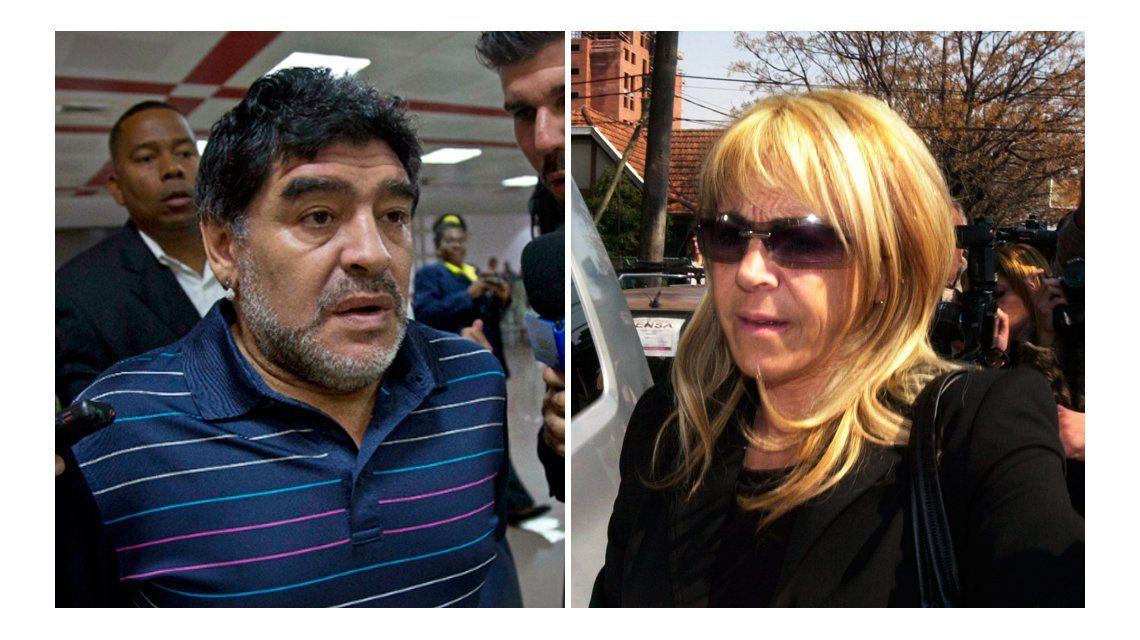 Diego Maradona: Claudia quería verme muerto para quedarse con todo