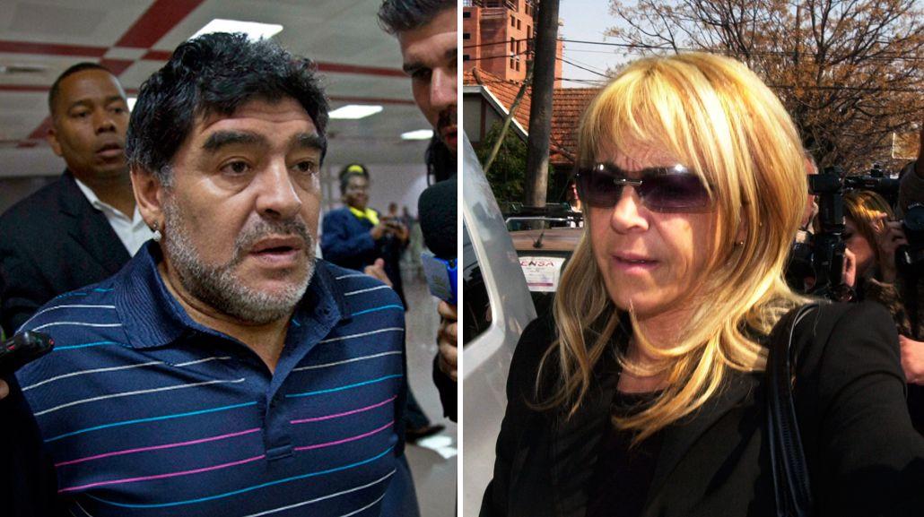 Claudia Villafañe pedirá la nulidad del divorcio con Diego Maradona