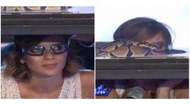 Accardi superó su fobia a las serpientes animándose a una jugada prueba