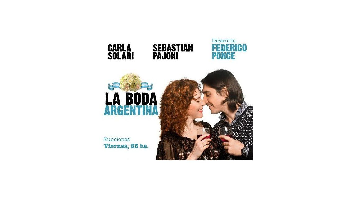 Llega La boda argentina al teatro, basada en una historia real