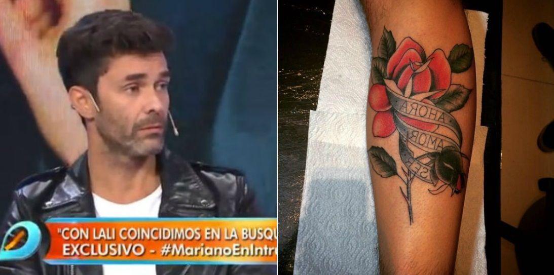 Qué significa cada palabra del nuevo tatuaje de Mariano Martínez