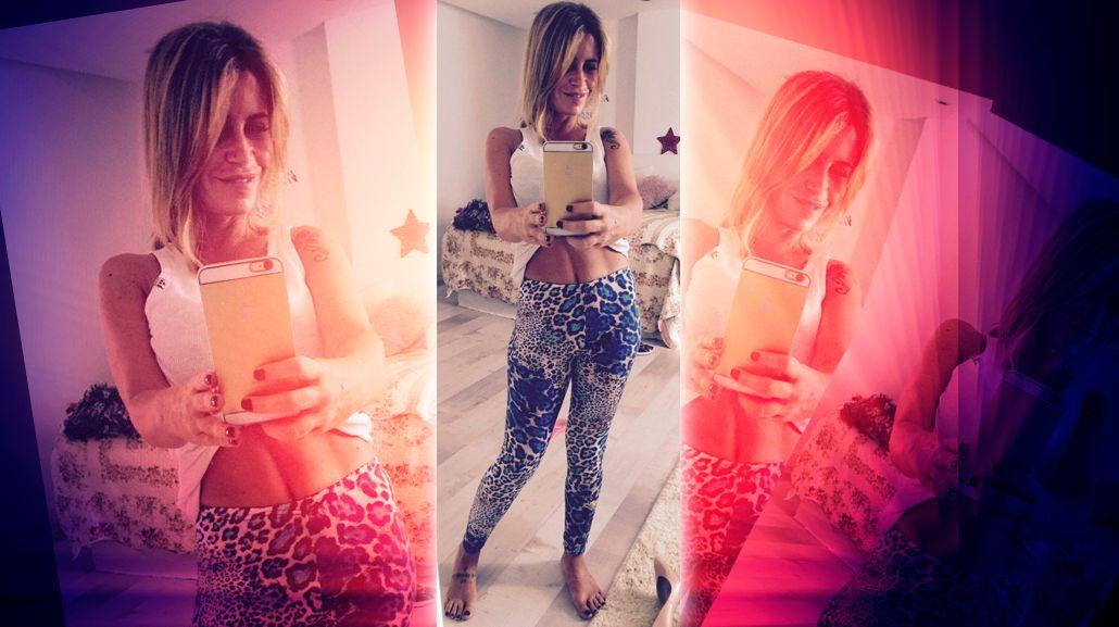Florencia Peña mostró su pancita sin Photoshop y revolucionó las redes: Buen día