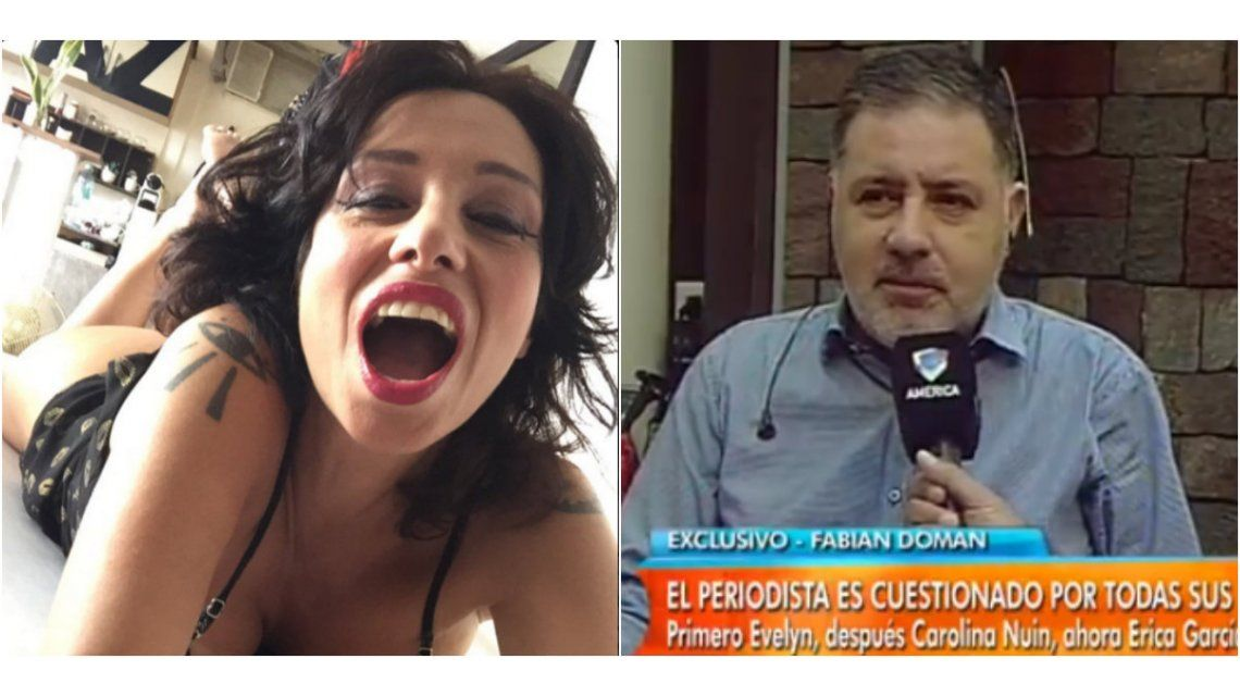 A Érica García le dio positivo el test de embarazo, ¿es de Doman?