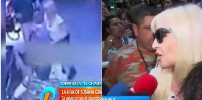 Susana Giménez, sin filtro, sobre el video de su yerno a las piñas: Por algo fue