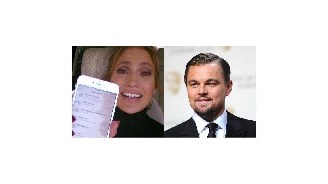 El sugestivo mensaje que Jennifer Lopez le envió a Leo DiCaprio: la encendida respuesta del actor