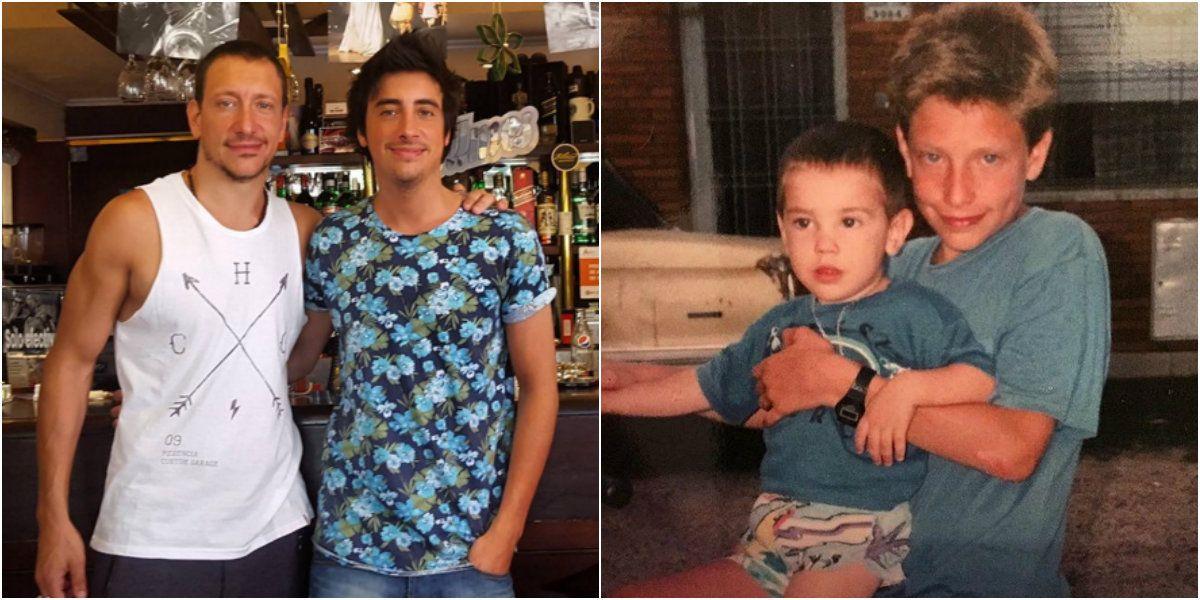 El conmovedor mensaje de Nicolás Vázquez por el cumpleaños de su hermano Santiago