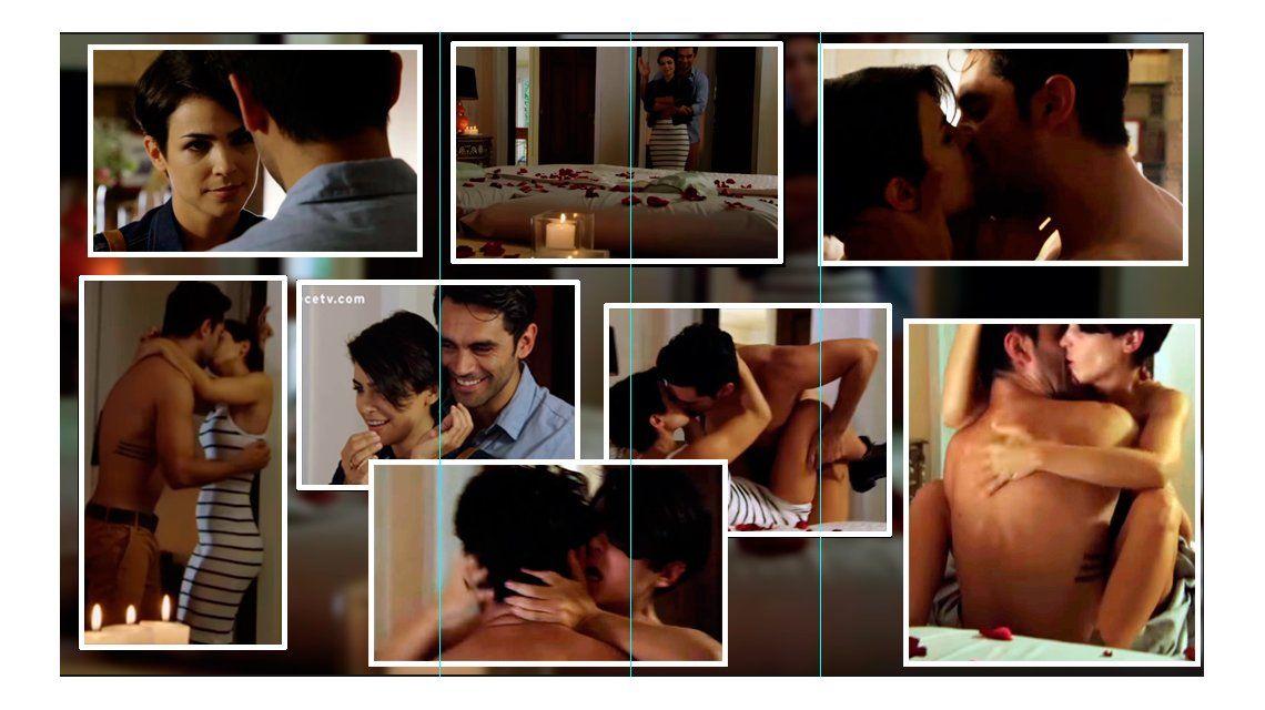 La escena hot de Agustina Cherri y Gonzalo Heredia en Los ricos no piden permiso