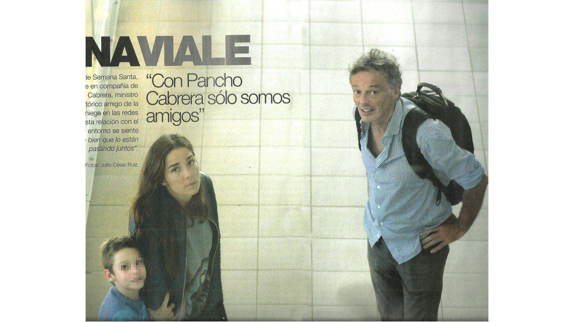 Más fotos del viaje de Juana Viale y Francisco Cabrera en Punta y un penoso accidente en la playa