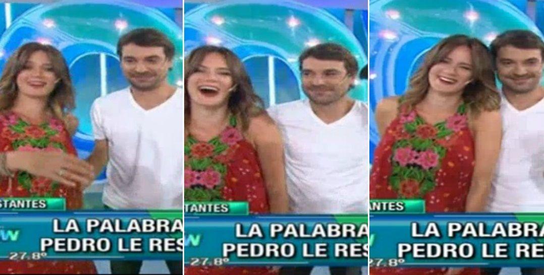 Paula Chaves y Pedro Alfonso: divertida anécdota al pensar que tendrían mellizos ¡y mano en off side en vivo!