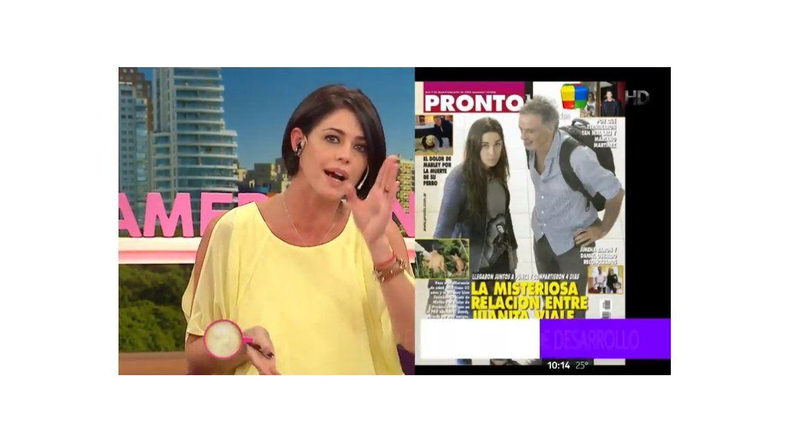 Pamela David se enojó con el ministro que sale con Juana Viale: Si le gusta el durazno que se aguante la pelusa