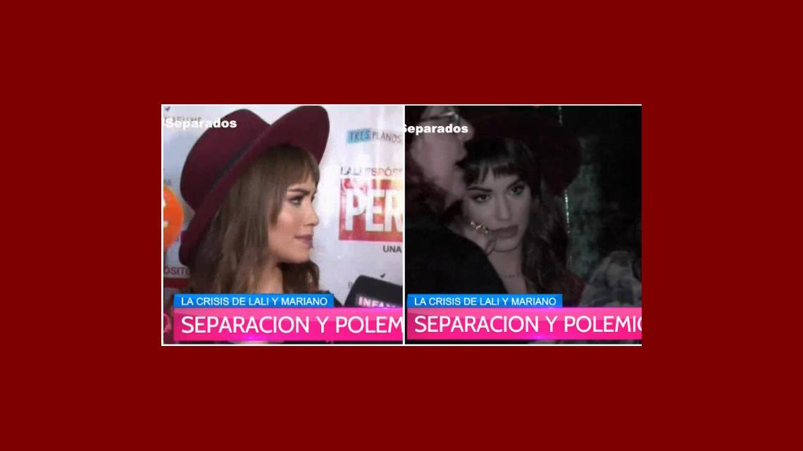 Lali Espósito con ataques de nervios una conferencia de prensa