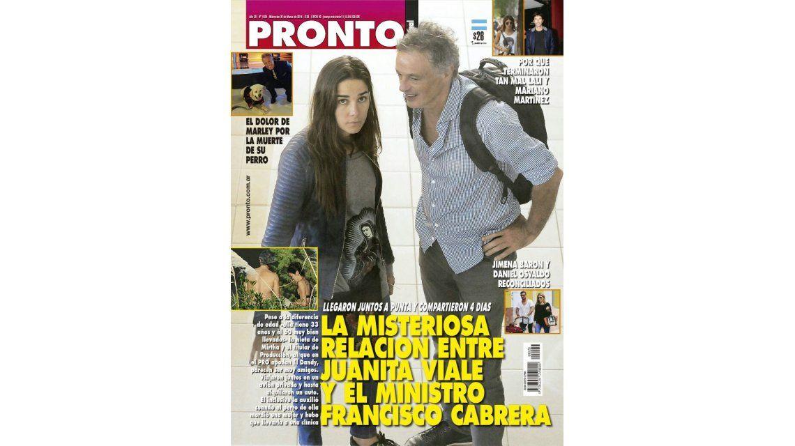 Juana Viale fue fotografiada junto a un Ministro y salió a negar posibles rumores: No especulen