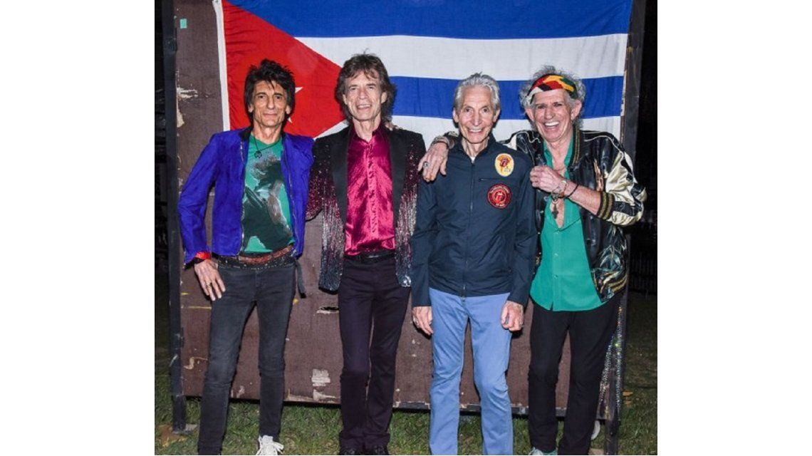 Video: mirá el detrás de escena del histórico show de los Rolling Stones en Cuba