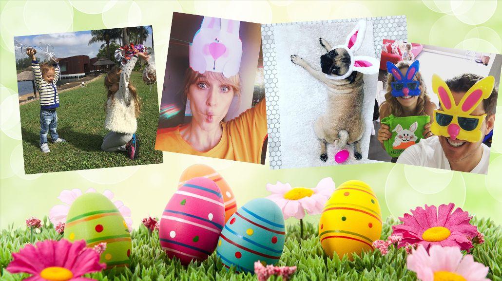 Así celebraron los famosos el domingo de Pascuas
