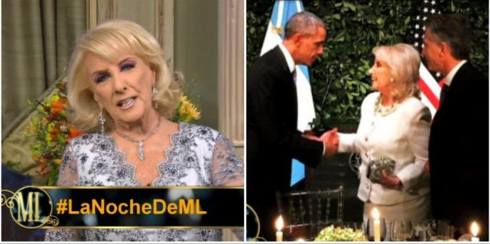 Mirtha Legrand contó detalles de la intimidad del encuentro con Barack Obama: mirá cómo se presentó