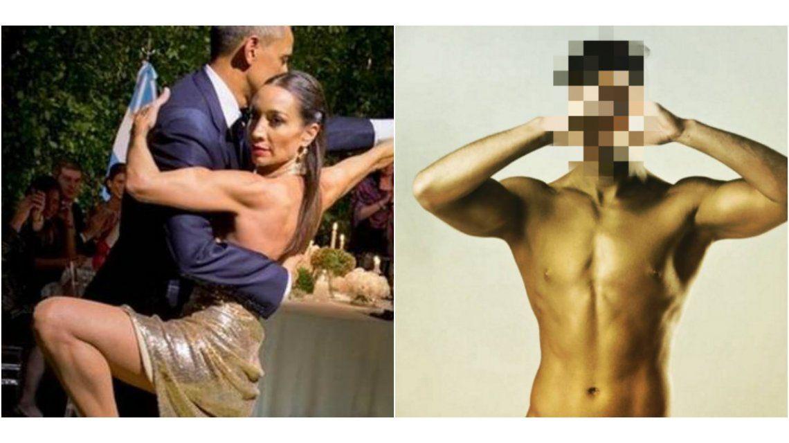 Después de bailar con Barack Obama, ¿Mora Godoy, en problemas con su bailarín?