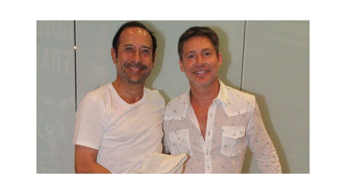 Atención, productores: Me gustaría hacer televisión con Adrián Suar, dijo Guillermo Francella