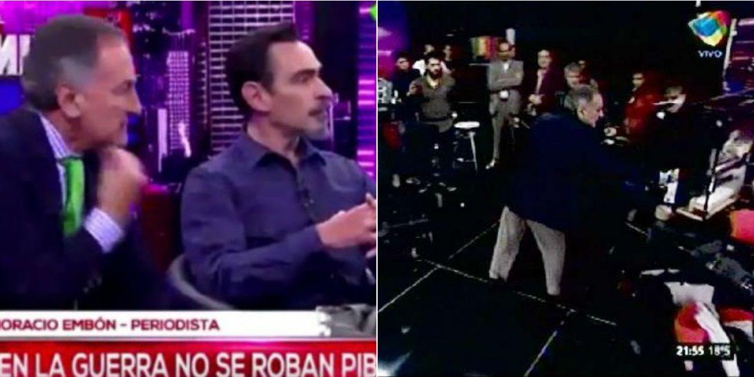 Escándalo en Intratables: Horacio Embón discutió y abandonó el programa en medio del debate