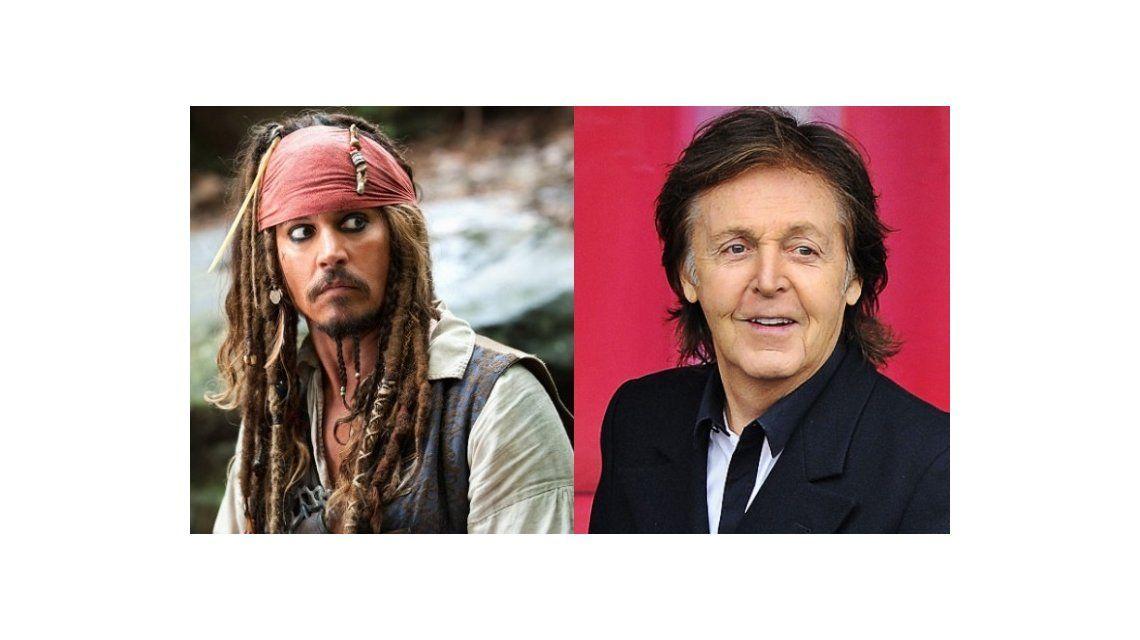 Paul McCartney se sube al barco de la quinta parte de Piratas del Caribe