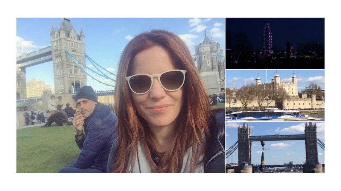 Agustina Kämpfer y Jorge Rial, en Londres: Recuperando un poco de energía