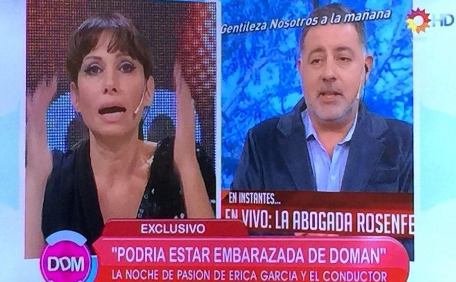 La confesión de Érica García, entre lágrimas: Podría estar embarazada de Doman