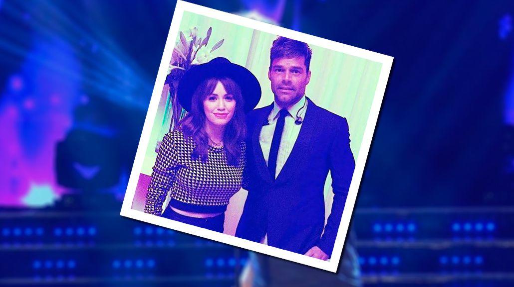 Lali Espósito, la fan N°1 de Ricky Martin: Conocerte fue un disparo al corazón
